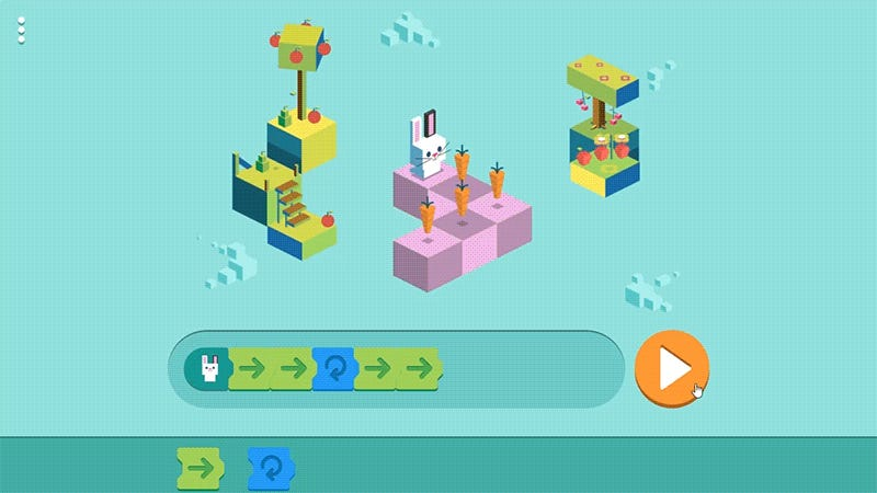 Google's first-ever coding doodle for children is fascinating