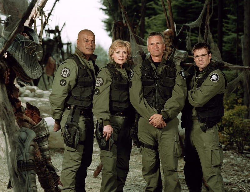 Illustration for article titled Stargate Didn't Become a Great Universe Until It Was on Television