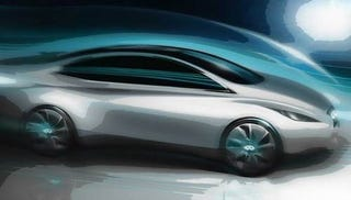 Illustration for article titled Infiniti Building Their Own Electric Nissan Leaf