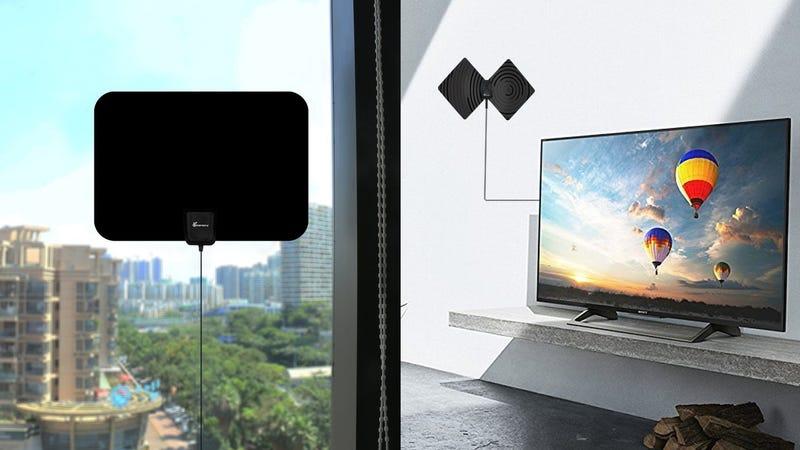 Vansky HDTV Antenna, $17 with code F7QBJ99T Vansky HDTV Antenna with Stand, $17 with code IIJUEF17