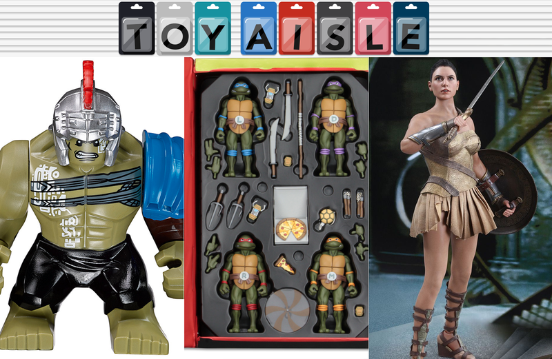 Illustration for article titled The Most Amazing Teenage Mutant Ninja TurtlesSet, and More Wonderful Toys of the Week
