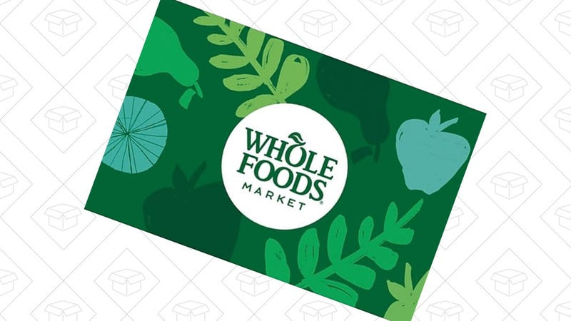 $100 Whole Foods Gift Card | $90 | Staples