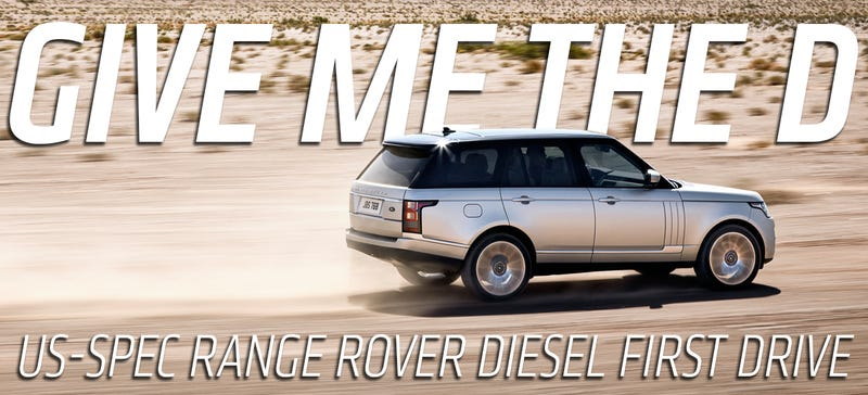 Illustration for article titled 2016 Range Rover Diesel: The Ultimate SUV Finally Has The Perfect Engine In America