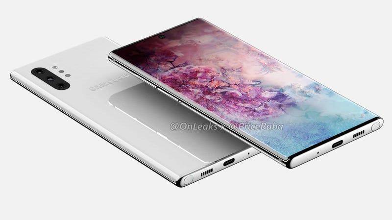 Illustration for article titled El Samsung Galaxy Note 10 llegaría el 7 de agosto en dos versiones