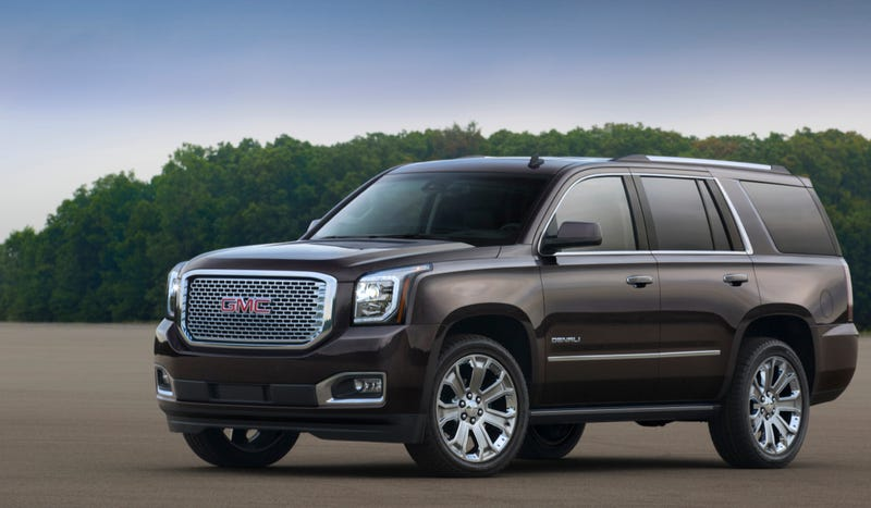 Illustration for article titled The 2015 GMC Yukon Actually Looks Great
