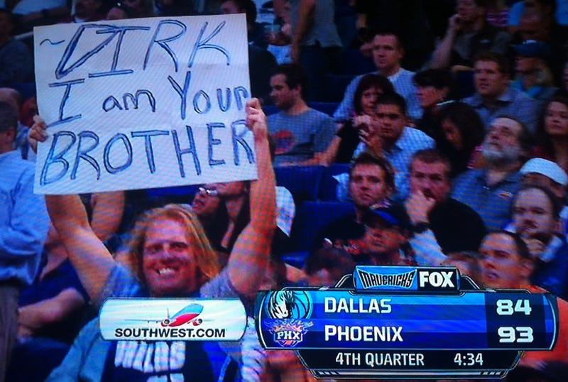 Illustration for article titled What If Dirk Nowitzki Was Missing A Chromosome And Lived In Phoenix?