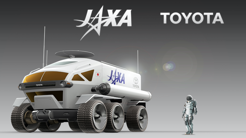 Illustration for article titled Toyota Is Planning to Get Into the Space-Car Business
