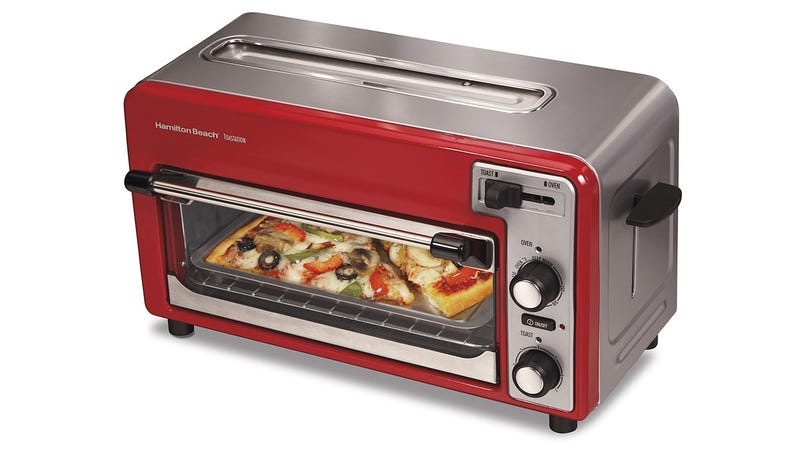 Illustration for article titled A Toaster Oven With a Bread Slot For When Pizza's Not On the Menu