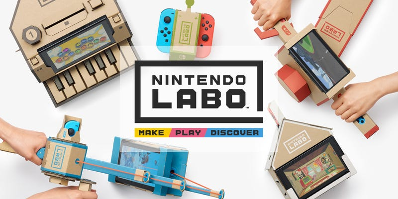 Illustration for article titled TAY Open Forum: More like Nintendo Lab-no Edition
