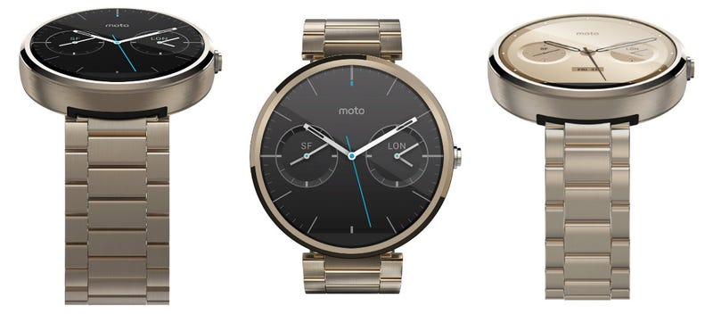 Illustration for article titled A Gold Moto 360 Just Appeared (and Disappeared) on Amazon