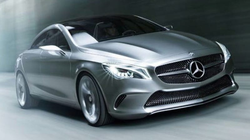 Illustration for article titled Mercedes-Benz Concept Style Coupe Is The CLC Class In Disguise