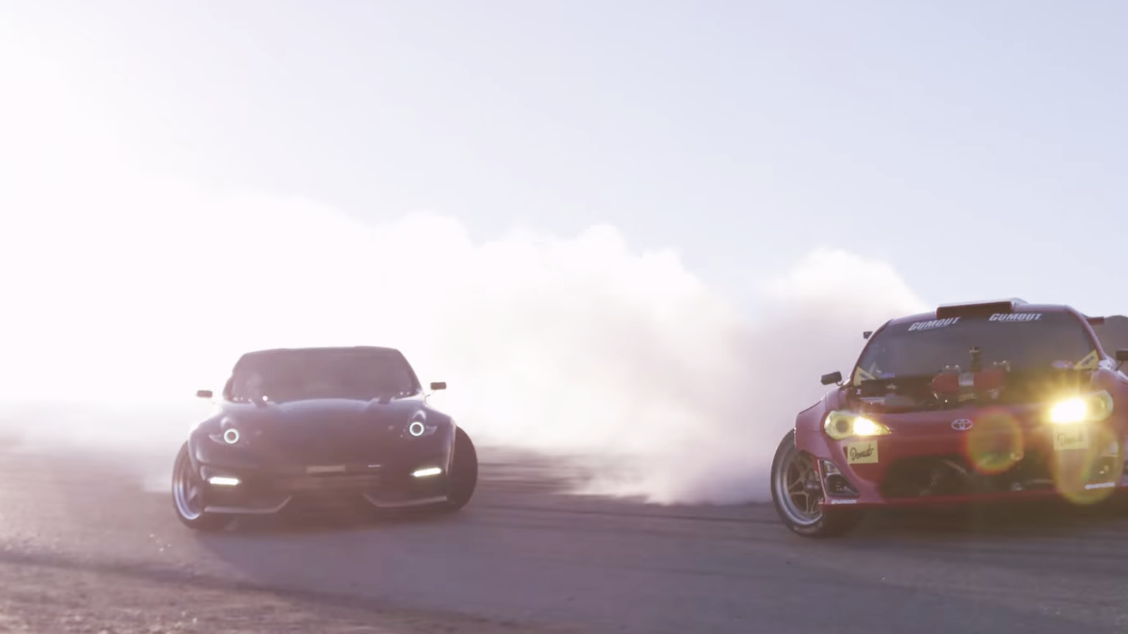 Watch Ryan Tuerck Drift The Crap Out Of The Ferrari 458-Swapped Toyota GT86