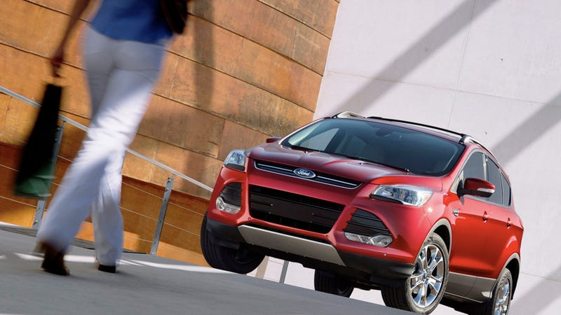 Illustration for article titled 2013 Ford Escape: Your mom will love it