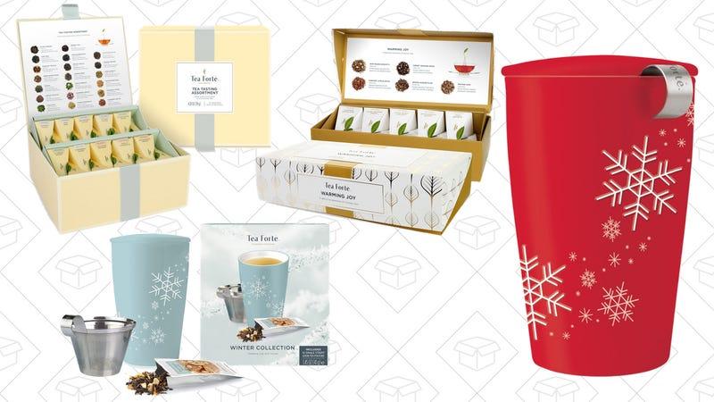 Tea Forté Gold Box | Amazon