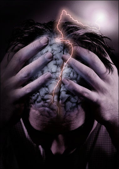 Illustration for article titled Depressed? Just Magnetize Your Brain Waves, Says FDA