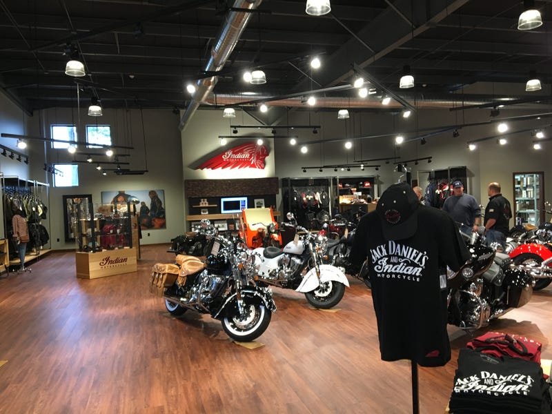 Illustration for article titled My Town Got An Indian Motorcycle Dealership