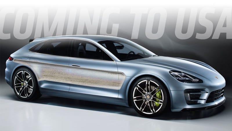 Porsche Will Bring The Panamera Wagon To America
