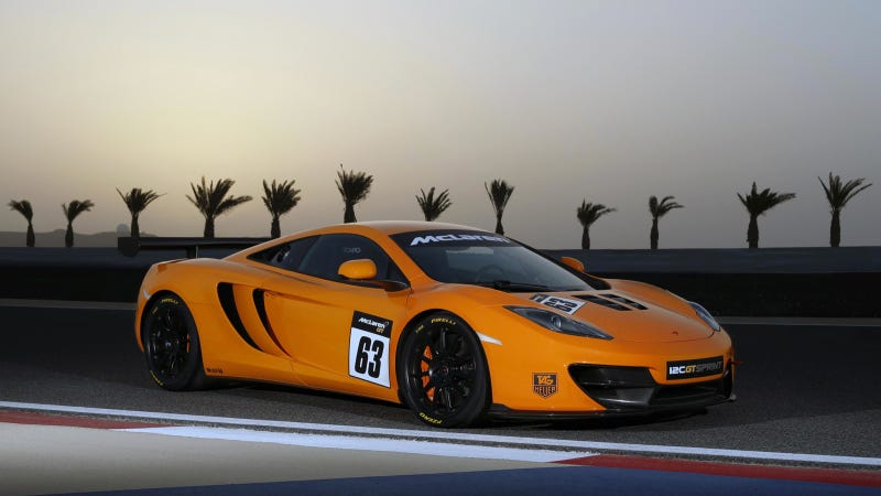 Illustration for article titled McLaren Makes The MP4-12C More Track-Ish With The GT Sprint