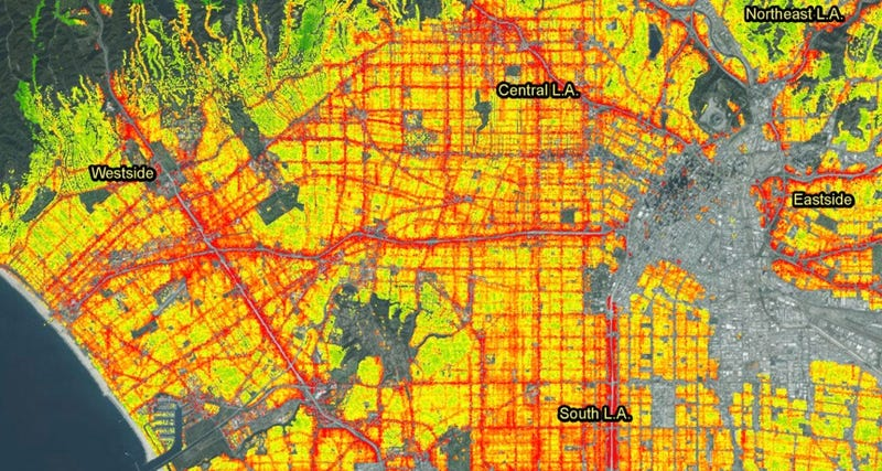 Illustration for article titled Find Out How Loud Your Neighborhood Is With These Sound Maps