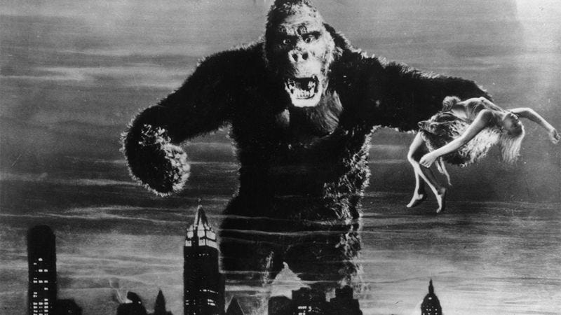 You Ever Hear About King Kong? That Big Monkey? Pretty Incredible.