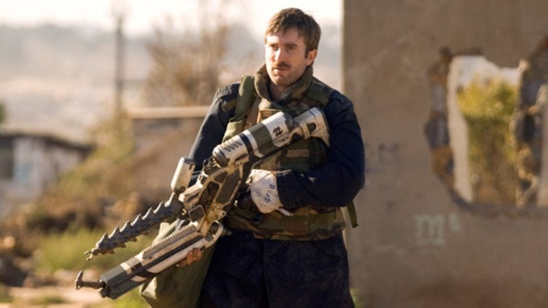 Illustration for article titled District 9 star Sharlto Copley