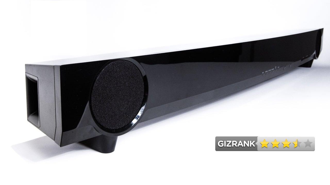 yamaha yas 101 lightning review the best budget soundbar. Black Bedroom Furniture Sets. Home Design Ideas