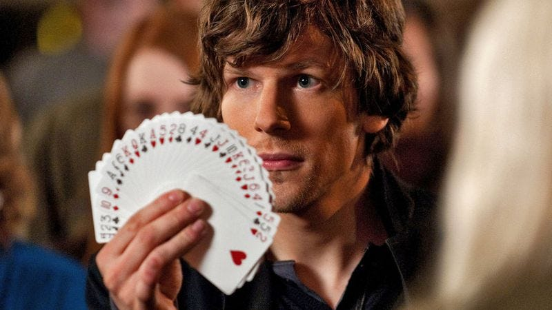 Illustration for article titled Proud that Now You See Me triumphed in a summer of rehashes, Lionsgate starts developing a sequel