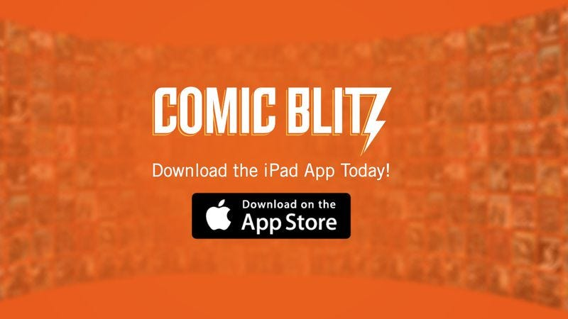 Illustration for article titled Comic Blitz is a new, Netflix-like app for comics