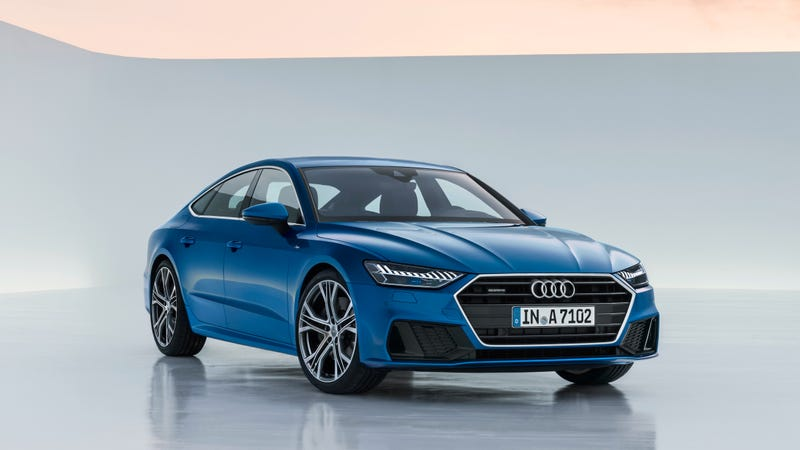 Illustration for article titled The 2019 Audi A7 Sportback Looks Good And Goes More High-Tech Than Ever