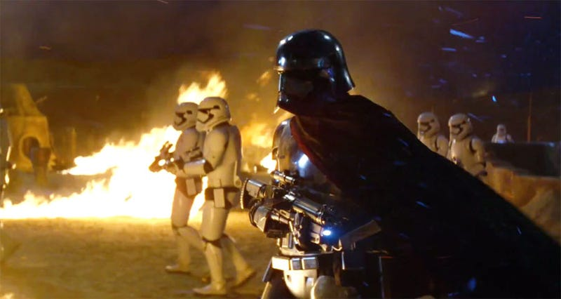 Illustration for article titled Gwendoline Christie Didn't Know That Captain Phasma Was Originally A Man