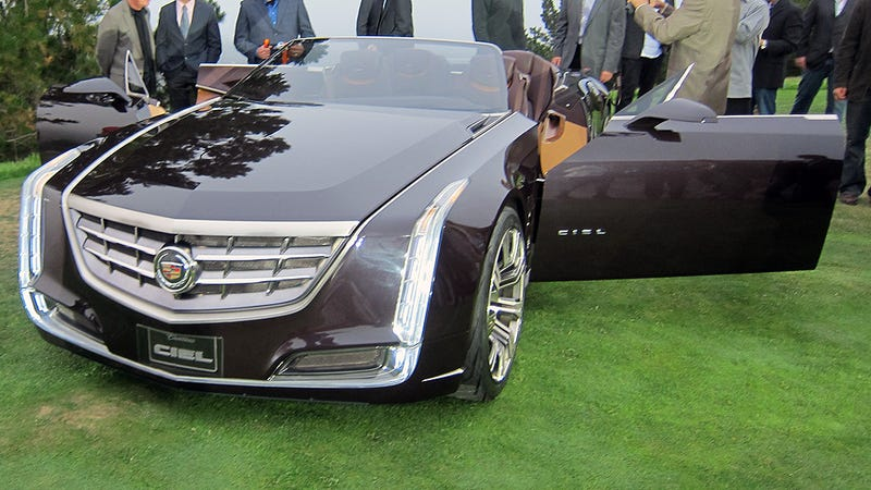 Illustration for article titled Cadillac Ciel Concept