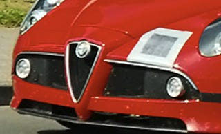 Illustration for article titled Alfa Romeo 8C GTA Mule Spotted Near Nurburgring