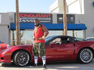 Illustration for article titled Mr. T's ZR1 Pities Your Puny, Unmohawked Supercar
