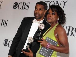 Denzel Washington and Viola Davis (Bryan Bedder/Getty Images)