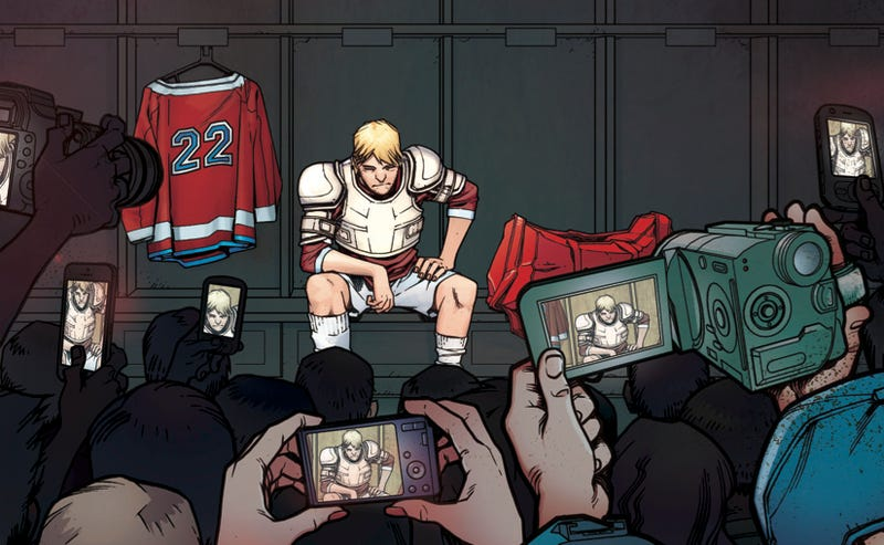 Illustration for article titled The Hockey Saint: A Graphic-Novel Excerpt