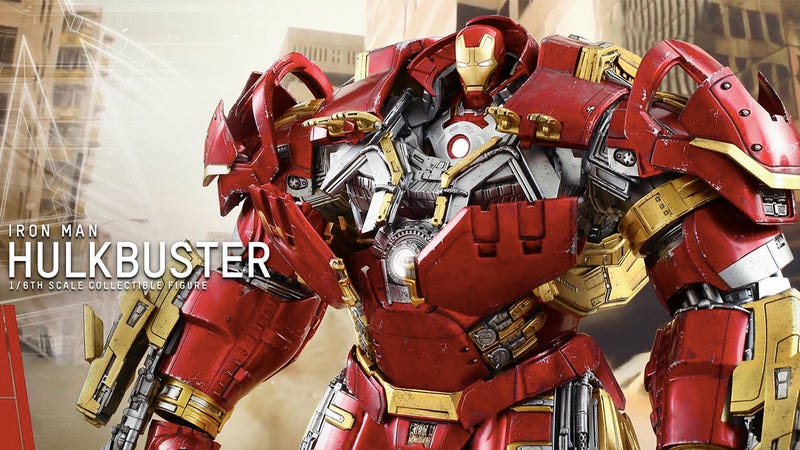 Illustration for article titled It Turns Out There's Even a Tiny Iron Man Inside That Hulkbuster Figure