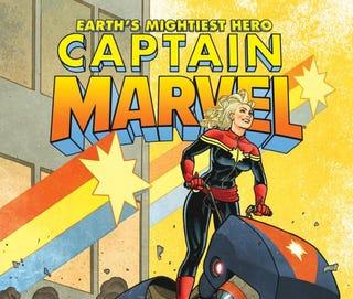 Illustration for article titled Captain Marvel #12
