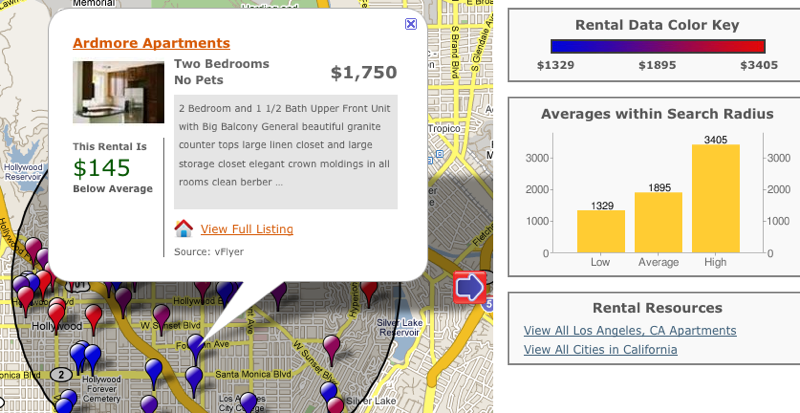 Illustration for article titled MyApartmentMap Finds Affordable Places in Your Desired Neighborhood
