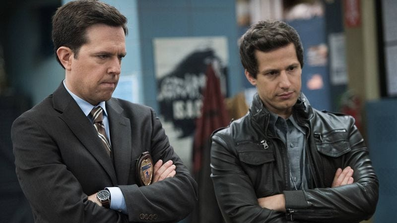 Ed Helms (left), Andy Samberg