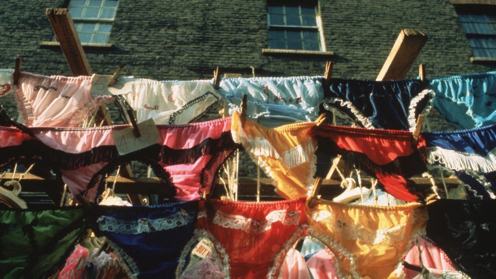 Underwear used sold at victorias secret marshalls catalog photo