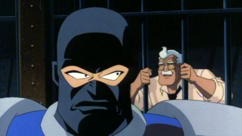 "Illustration for article titled Batman: The Animated Series: ""Lock-Up"""