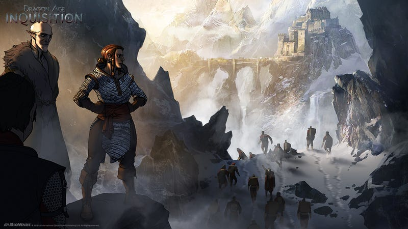 Illustration for article titled The Awesome Concept Art of Matt Rhodes: Dragon Age Inquisition Edition