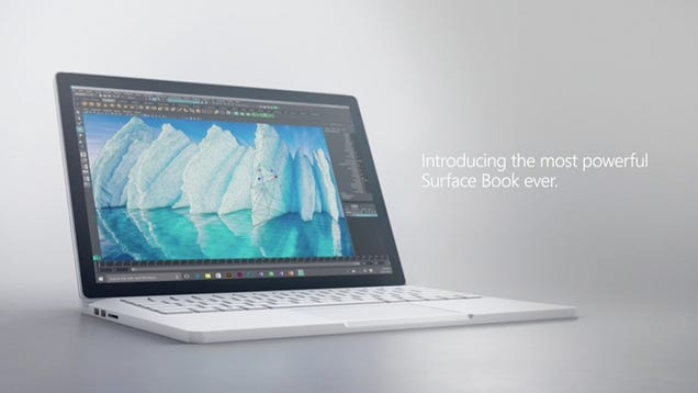 Microsoft Juices Its Surface