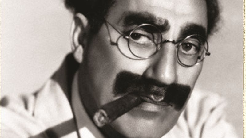 Illustration for article titled The Comedy Of Existence probes the layers of Groucho Marx's one-liners