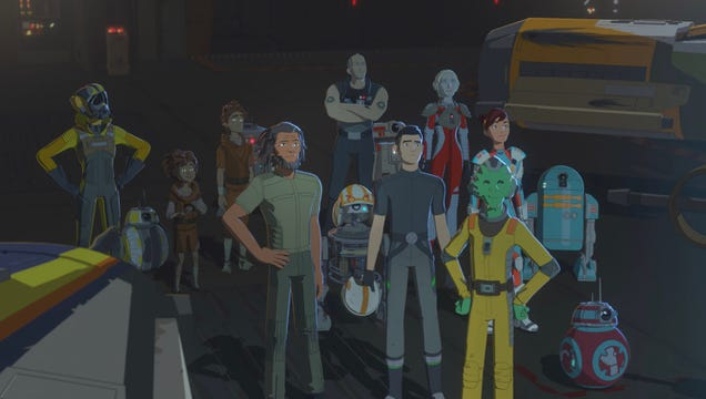 The Star Wars Resistance Season 2 Premiere Takes Place Almost