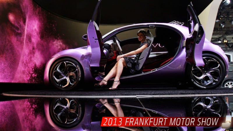 Illustration for article titled Everything You Need To Know About The 2013 Frankfurt Motor Show
