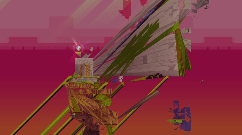 Illustration for article titled Fez Looks Beautiful Even When It's Glitching Out