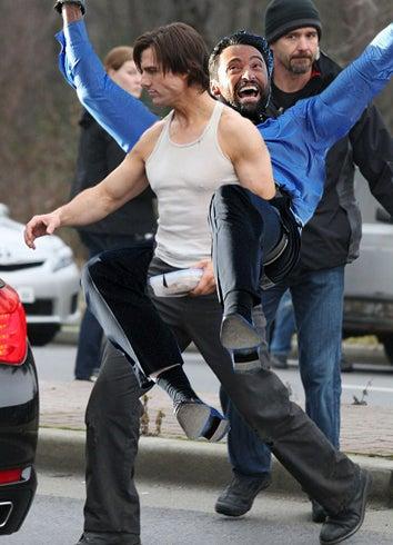 Illustration for article titled The Fantastic New Hugh Jackman Stunt Meme