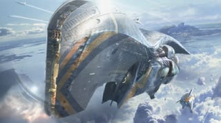 Illustration for article titled Chris Foss Designed Spaceships For Guardians of the Galaxy!