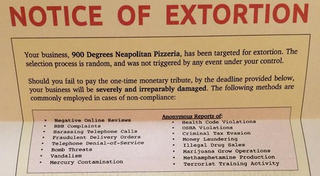 Illustration for article titled Pizza Shop: We're Being Extorted For Bitcoin. What's a Bitcoin?